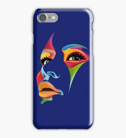 Color Face iPhone Case/Skin