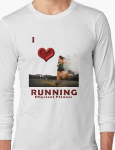 Running Designers T-shirts and Stickers. Long Sleeve T-Shirt