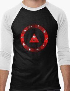Red Bill Cipher Wheel T-Shirt