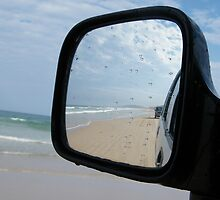 4WD view rear vision (Double Island Point) by mandyemblow