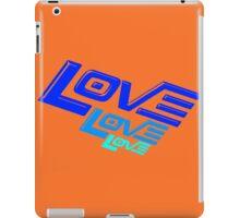 LOVE! LOVE! LOVE! iPad Case/Skin