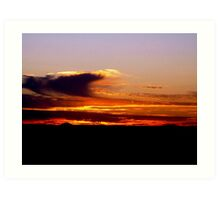 sunrise V ( while I was waiting for the sun to rise)...  Art Print