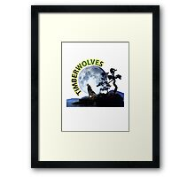 Timberwolves Collectors T-shirts and Stickers Framed Print