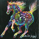 Raindrop Pony by louisegreen