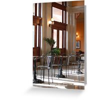 2nd Floor Cafe - Main Street Station, Richmond VA Greeting Card