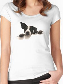 Official Rudy Tee! Women's Fitted Scoop T-Shirt
