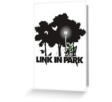 Link in Park (linkinpark) Greeting Card