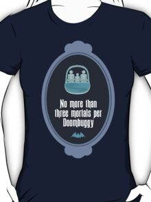 Three Mortals per Doombuggy T-Shirt