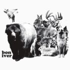 bon iver animals by Basic Billy Boy Brown