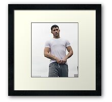 Nick Jonas Framed Print