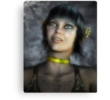 The Elf Fantasy Canvas Print