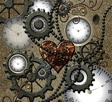 Steampunk, clocks and gears  by nicky2342
