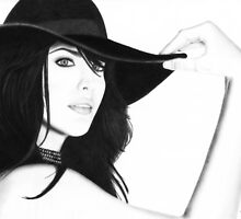 Liv Tyler Pencil Drawing (Lord of the Rings actress) by Inma Vassar