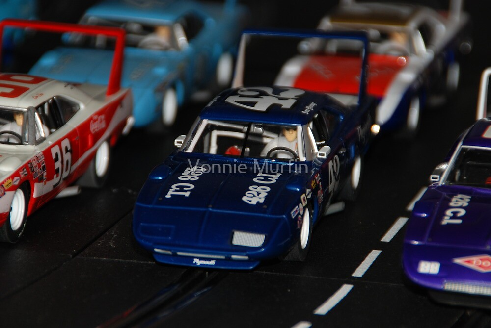 Let's go racing!!! by Vonnie Murfin