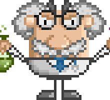 Pixel Art Mad Scientist by bubble-emporium