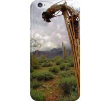 Bent Over Backwards iPhone Case/Skin