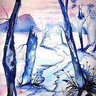First Snowfall - Landscape by © Linda Callaghan