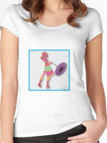 Neil Young - Cinnamon Girl Women's Fitted Scoop T-Shirt