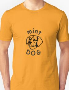 Mint Dog Cool Dog T-Shirt