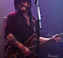 Lemmy from Motörhead by C Ballard