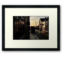 Wofle Tone Street Framed Print