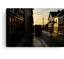 Wofle Tone Street Canvas Print