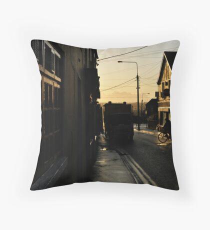 Wofle Tone Street Throw Pillow