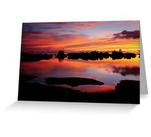 Reflecting Paradise Greeting Card