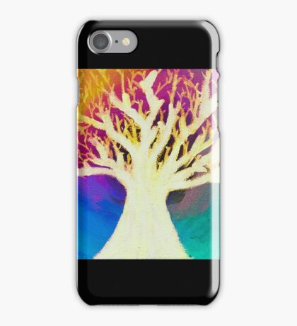 The Tree of Light and Colorful Beyond iPhone Case/Skin