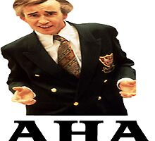 "Alan Partridge ""AHA"" by GreenSpartan"