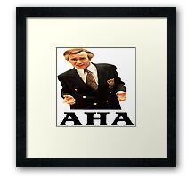 "Alan Partridge ""AHA"" Framed Print"