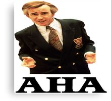 "Alan Partridge ""AHA"" Canvas Print"