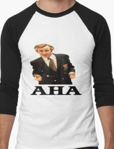 "Alan Partridge ""AHA"" Men's Baseball ¾ T-Shirt"