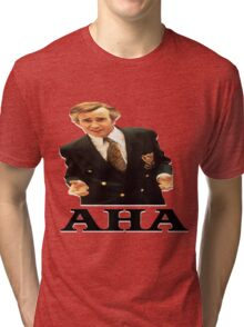 "Alan Partridge ""AHA"" Tri-blend T-Shirt"