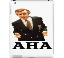 "Alan Partridge ""AHA"" iPad Case/Skin"