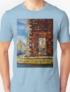 On Joy Street, Belfast, Prior to Restoration, (the place where my father was born). T-Shirt