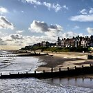 Across to Southwold, Suffolk by Karen  Betts