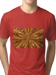 Kaleidoscopic Bubbles Tri-blend T-Shirt