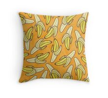 VINTAGE - BANANA Throw Pillow
