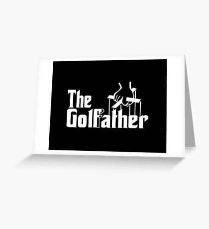 The Golf Father Greeting Card