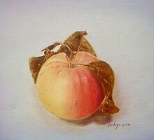 Backyard's Apple by Jo-anne Corteza