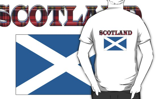Scotland T-Shirt by simpsonvisuals