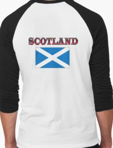 Scotland T-Shirt Men's Baseball ¾ T-Shirt