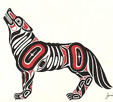 Howling Wolf by jennid3