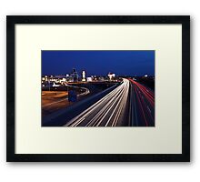 Bring on the Night Framed Print