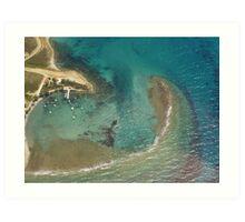 Edge of an Island Art Print