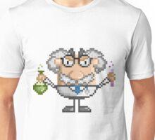 Pixel Art Mad Scientist Unisex T-Shirt