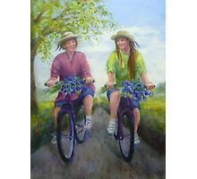 The Bluebell Girls Photographic Print