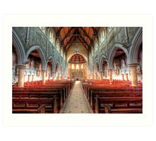 The Cathedral Church of Saints Mary & Joseph • Armidale • New South Wales Art Print