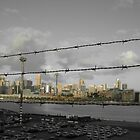 Sydney city from Rozelle by missmarbles